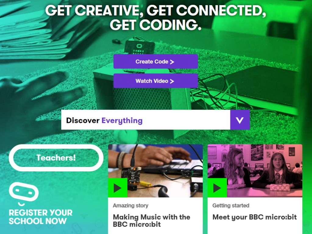 Official Micro:Bit Site Launch
